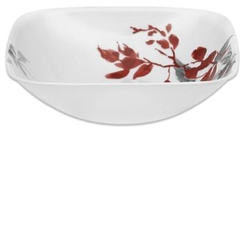 Corelle Kyoto Leaves Square Serving Bowl - Kyoto Leaves - Square Round - Corelle - World Kitchen UK