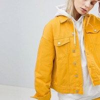 Weekday Denim Trucker Jacket at asos.com