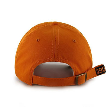 "Oklahoma State Cowboys Orange ""Shelton"" Clean Up Hat - NCAA '47 Baseball Cap"