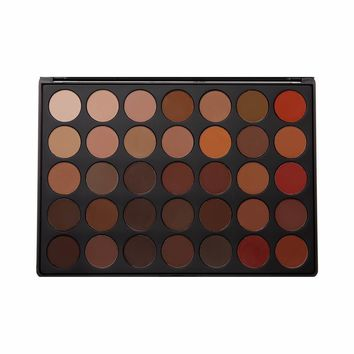 Morphe Cosmetics - 35OM - 35 Color Matte Nature Glow Eyeshadow Palette