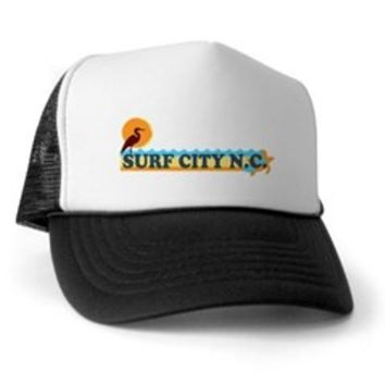 Surf City NC - Beach Design Trucker Hat> Surf City NC - Beach Design > Beach Tshirts.