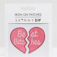 Skinnydip | Skinnydip Best Bitches Patch at ASOS
