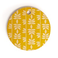 Heather Dutton Abadi Sunburst Cutting Board Round