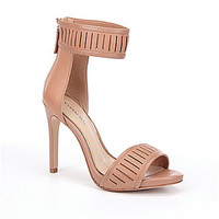 Gianni Bini Solise Laser-Cut Dress Sandals | Dillards.com