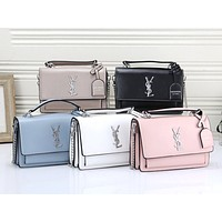 YSL tide brand female models simple wild messenger bag chain bag shoulder diagonal package