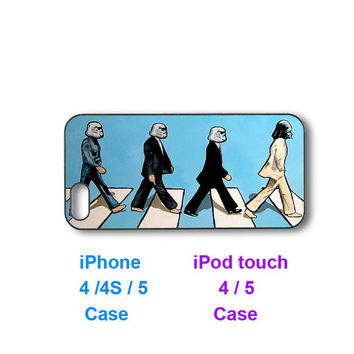 The beatles Abbey road -- iPhone 4 case, iphone 5 case, ipod touch 4, ipod touch 5 case, personalized phone case