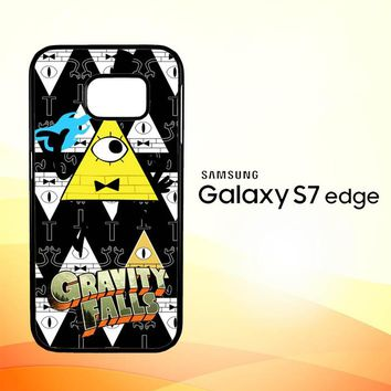 Gravity Falls Bill Cipher W3347 Samsung Galaxy S7 Edge Custom Case