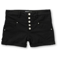 Almost Famous Black High Waisted Shorts