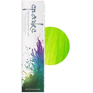Sparks Long-lasting Bright Permanent Hair Color Key Lime 3 oz