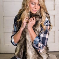 Mrs. Alexis Fancy Fur Vest