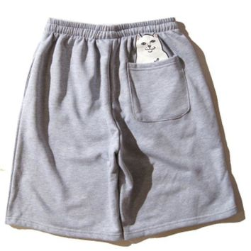 ONETOW Boys & Men Ripndip Casual Sport Shorts