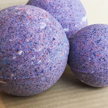 Galaxy Bath Bomb, Colorful Bath Bomb, Vanilla Bath Bomb