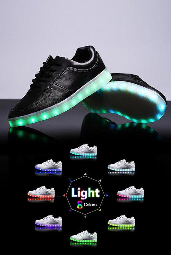 Amazing Being A Child, We All Were Fascinated With Lighted Shoes  The Shoes That Lighted Up When We Walk Evolved Footwear Now Brings Lightup Shoes To Reminisce Your Childhood The Exclusive Nike Shoes Are Retrofitted With LED Lights They Are