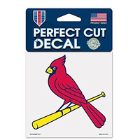 St. Louis Cardinals Perfect Cut 4x4 Premium Auto Decal