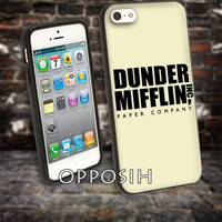 Dunder Mifflin The Office cover case for iPhone 4 4S 5 5C 5 5S 6 Plus Samsung Galaxy s3 s4 s5 Note 3 by opposih