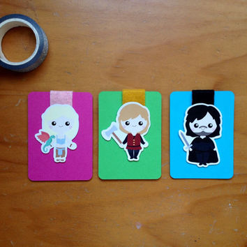Game of Thrones Magnetic Bookmarks