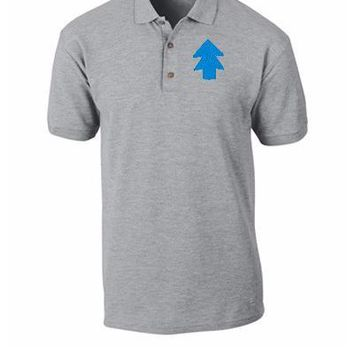 dipper pines EMBROIDERY - Polo Shirt