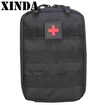 Mini Pouch Travel First Aid Kit Survie Portable Survival Tactical Emergency First Aid Bag Military Kit Medical Quick Pack 3Color