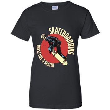 Dress like a Skater - Skate Boarding