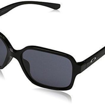 Oakley Women's Disclosure Polarized Aviator Sunglasses