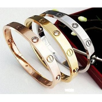 Cartier men and women fashion models delicate brown F