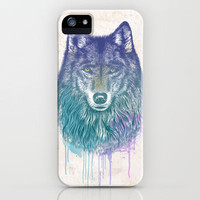 I Dream of Wolf iPhone Case by Rachel Caldwell | Society6