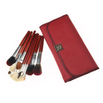 Red 15-pcs 5-pcs Luxury Hot Sale Make-up Brush Set = 4831028164