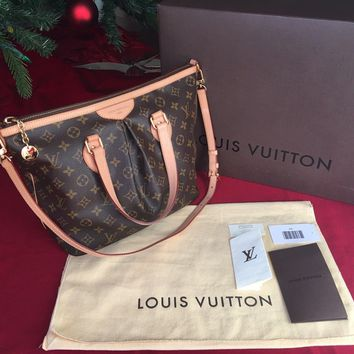 LOUIS VUITTON PALERMO PM in MINT Condition 100% Authentic w/ Original Receipt
