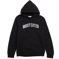 Undefeated Embroidered Pullover Hoody Black