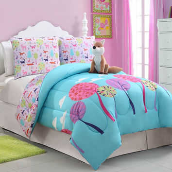 Foxy Lady Twin Comforter Set