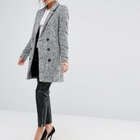 Y.A.S Dalay Tailored Coat In Tweed at asos.com