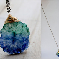Sail Away Necklace - Stalactite