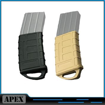 Hunting Tactical Rubber Fast Mag Magazine Pouch Bag Holster FOR M4/M16 5.56 NATO Magazine Pouch Holster Free Shipping