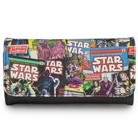 """Star Wars Comic Print"" Faux Leather Wallet by Loungefly (Multi)"