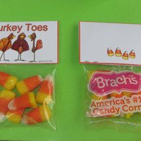 CANDY Corn,Thanksgiving,topper,bag,treat,favors,PDF file