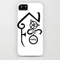 Led Zeppelin iPhone & iPod Case by Dorian