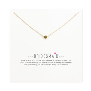 Hot Sale Sparkling bridesmaid circle necklace gold plated Pendant necklace Clavicle Chains Fashion Necklace Women Jewelry