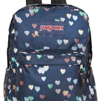 Jansport Blue Hearts Backpack - Multi