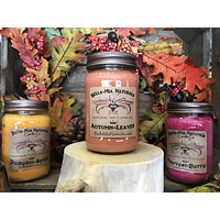 Autumn-Leaves Natural Hand Poured Soy Candles