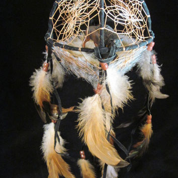 Indian Buffalo Dream Catcher Hanging -Western Decor-Country Girl Decor-Country Decor