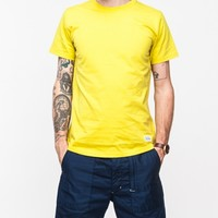 Norse Projects Niels Basic Tee S/S in Yellow