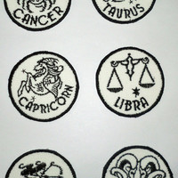 Iron-On Patch - ASTROLOGICAL SIGNS