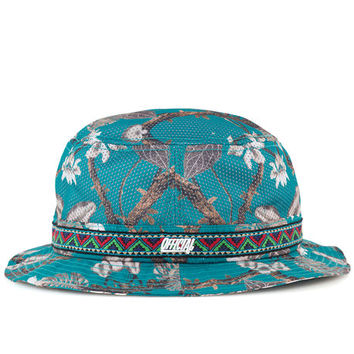 The Real Tropical Hippie Buckit Bucket Hat in Multi