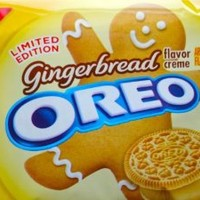 Gingerbread Flavor Creme Oreos - Limited Edition - 1 Pack