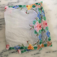 Embroidered Cotton Produce Bags