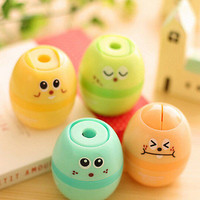 Professional egg Pencil Sharpener Stationary School Supplies Prize For StudentTB