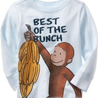 """Old Navy Curious George """"Best Of The Bunch"""" Tee For Baby"""