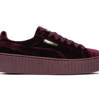 PUMA x Rihanna Fenty Creeper Velvet 364466-02 Royal Purple