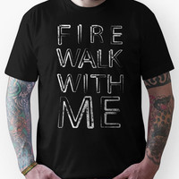 Fire Walk With Me (Twin Peaks) Unisex T-Shirt