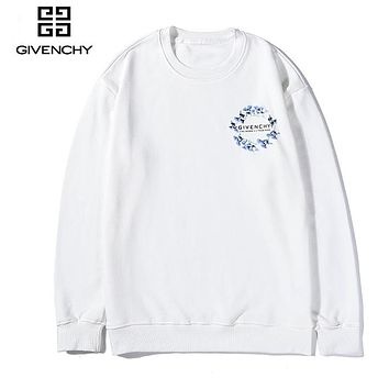 Givenchy fashion sells casual little print hoodies for couples White